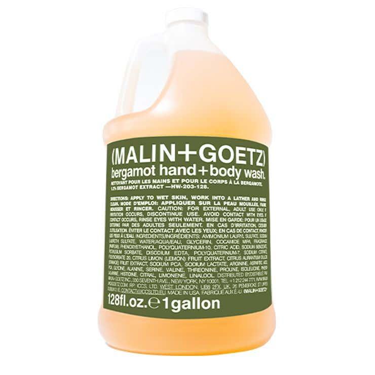bergamotte-waschgel für hände + körper nachfüllpackung.