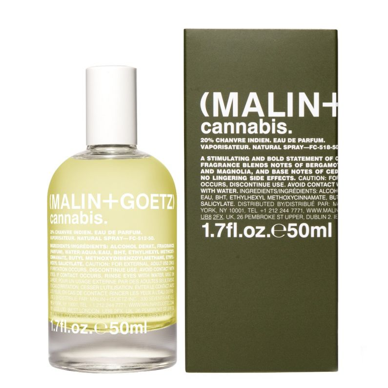 cannabis eau de parfum with box